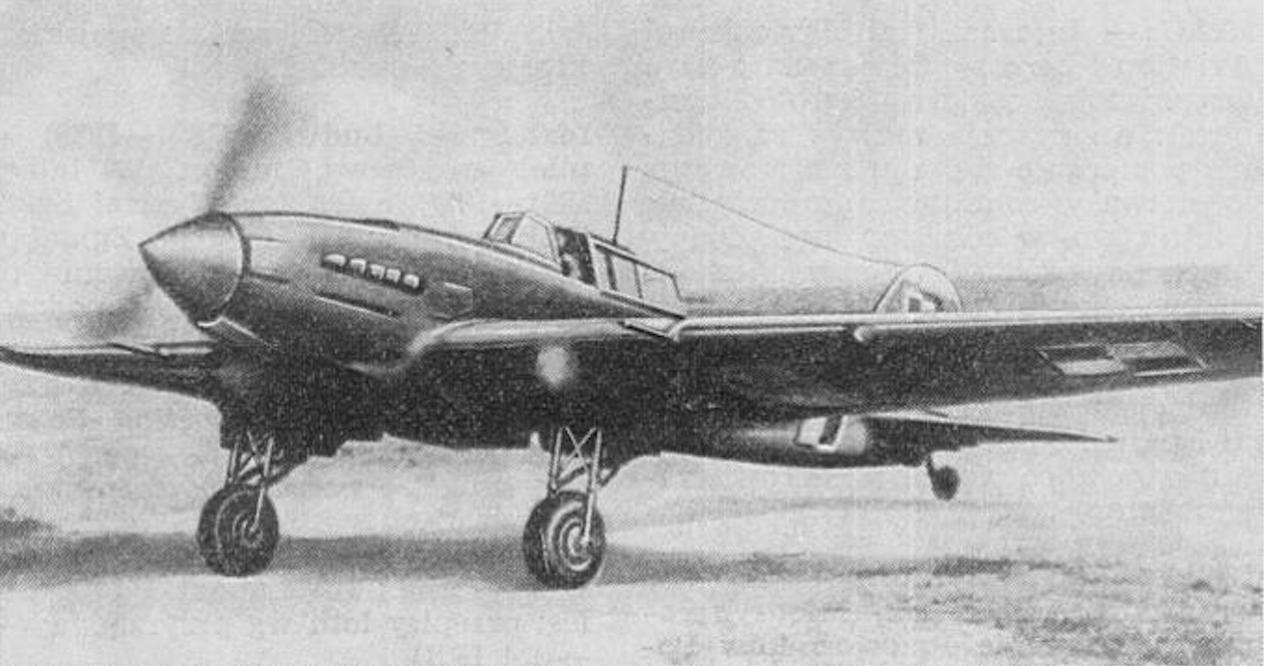 Ił-2 Lotnictwa Polskiego. 1945 rok. Zdjęcie LAC