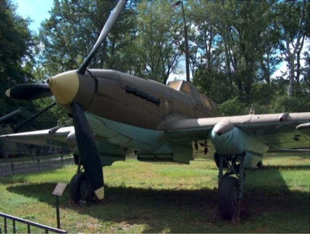 Ił-2m3 nb 21 2005 rok. Zdjęcie Karol Placha Hetman