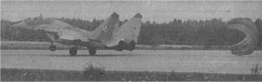 Pierwsze loty MiG-29 UB nr 14670 nb 70. 1989 rok. Zdjęcie LAC