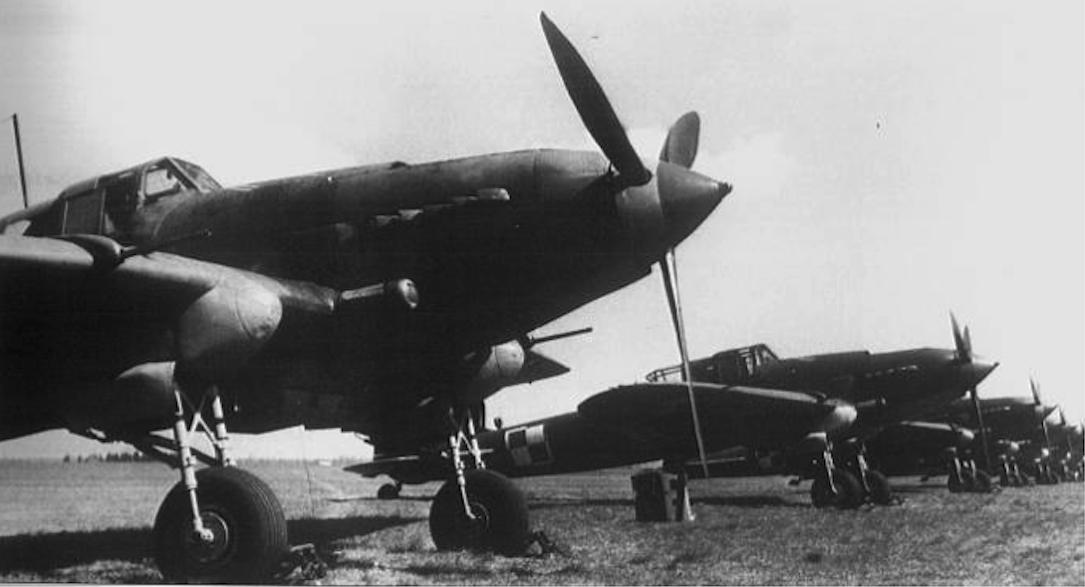 Ił-2 Lotnictwa Polskiego. 1946 rok. Zdjęcie LAC