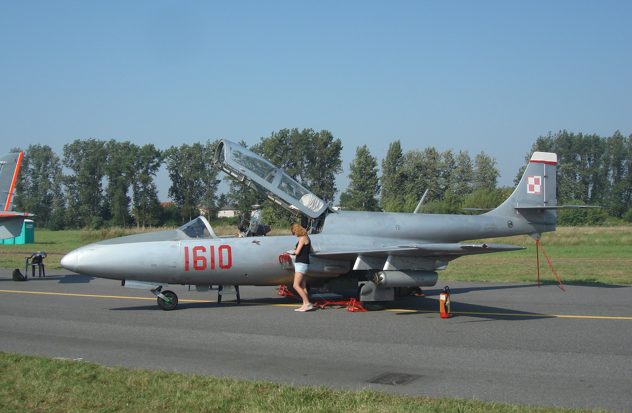 TS-11 Iskara nb 1610. 2011 rok. Zdjęcie Karol Placha Hetman
