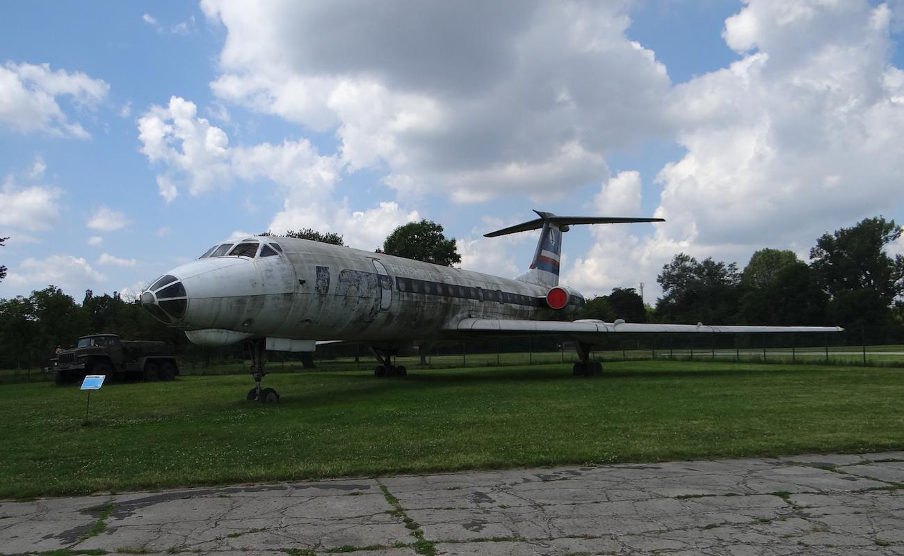 Tupolew Tu-134. 2017 rok. Zdjęcie Karol Placha Hetman