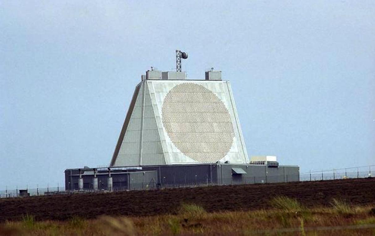 Radar systemu wczesnego ostrzegania BMEWS w bazie RAF Fylingdales. 2006 rok. Zdjęcie LAC