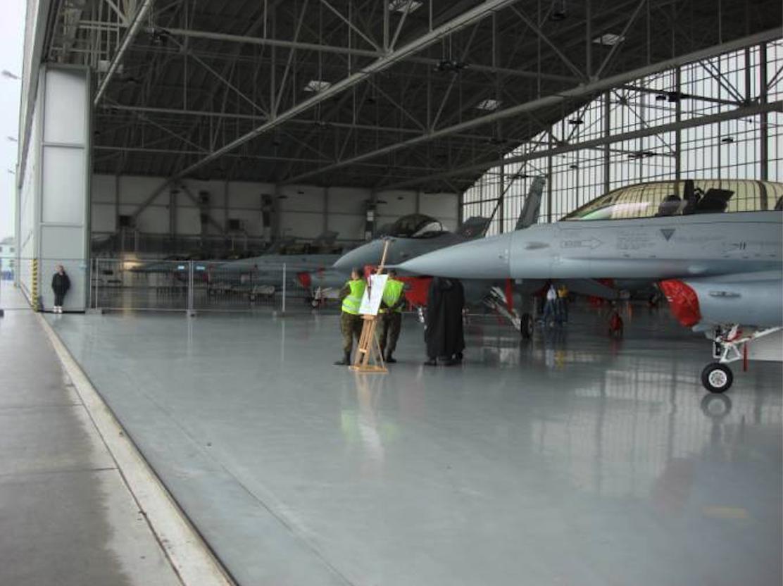 F-16 Jastrząb Krzesiny. 2007 rok. Zdjęcie Karol Placha Hetman