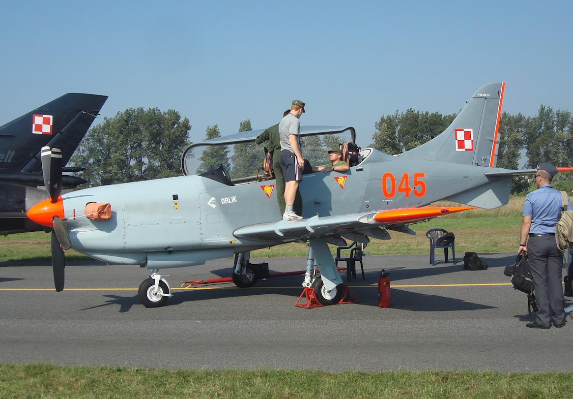 PZL-130 Orlik nb 045. 2011 rok. Zdjęcie Karol Placha Hetman
