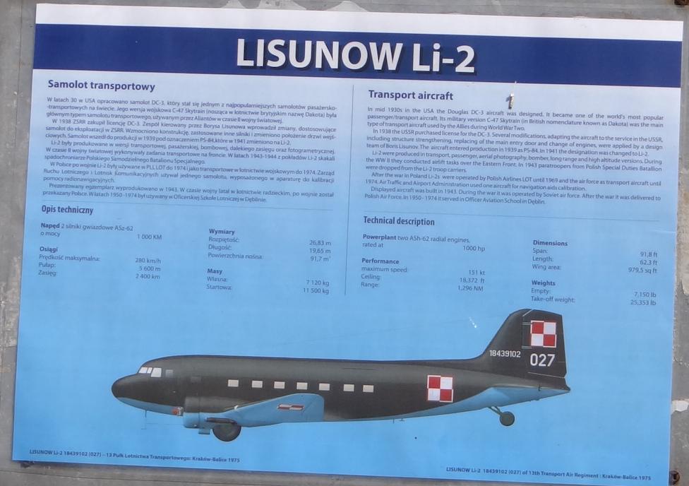 Li-2 2019 rok. Zdjęcie Karol Placha Hetman