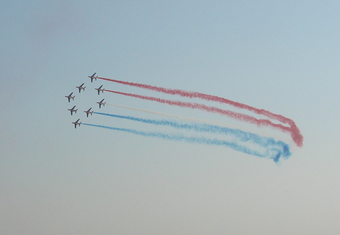 Patrouille de France. 2011 rok. Zdjęcie Karol Placha Hetman