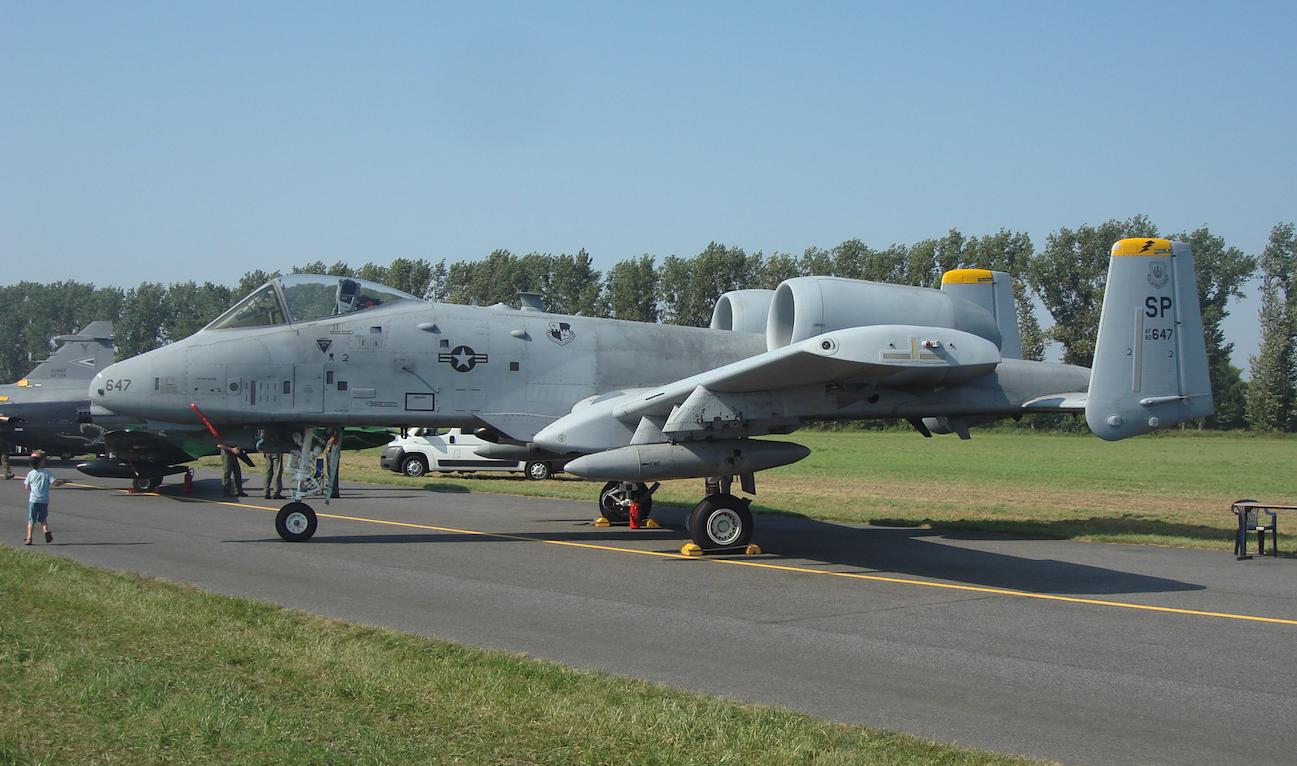 A-10 nb 647. 2011 rok. Zdjęcie Karol Placha Hetman