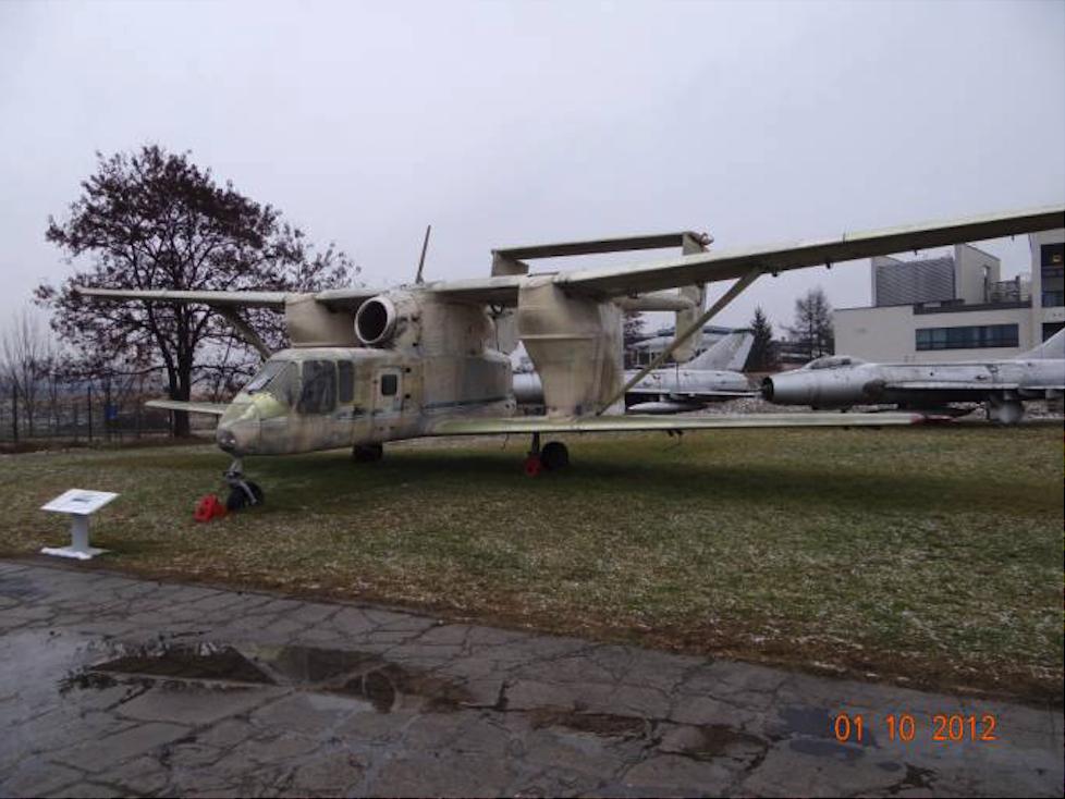 M-15 Belphegor Muzeum Lotnictwa Polskiego. 2012 rok. Zdjęcie Karol Placha Hetman