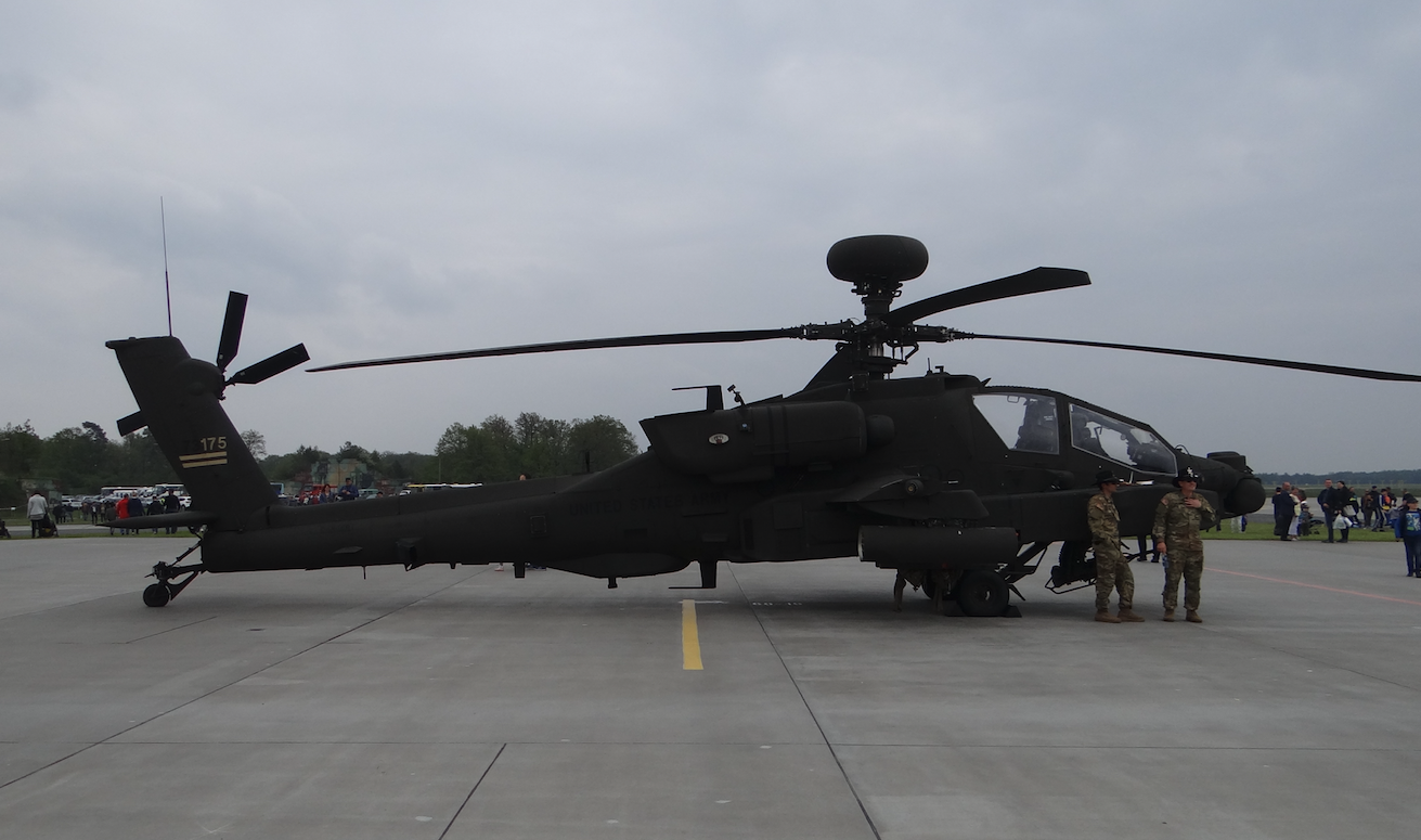 Boeing AH-64 Apache. Powidz 2019 rok. Zdjęcie Karol Placha Hetman