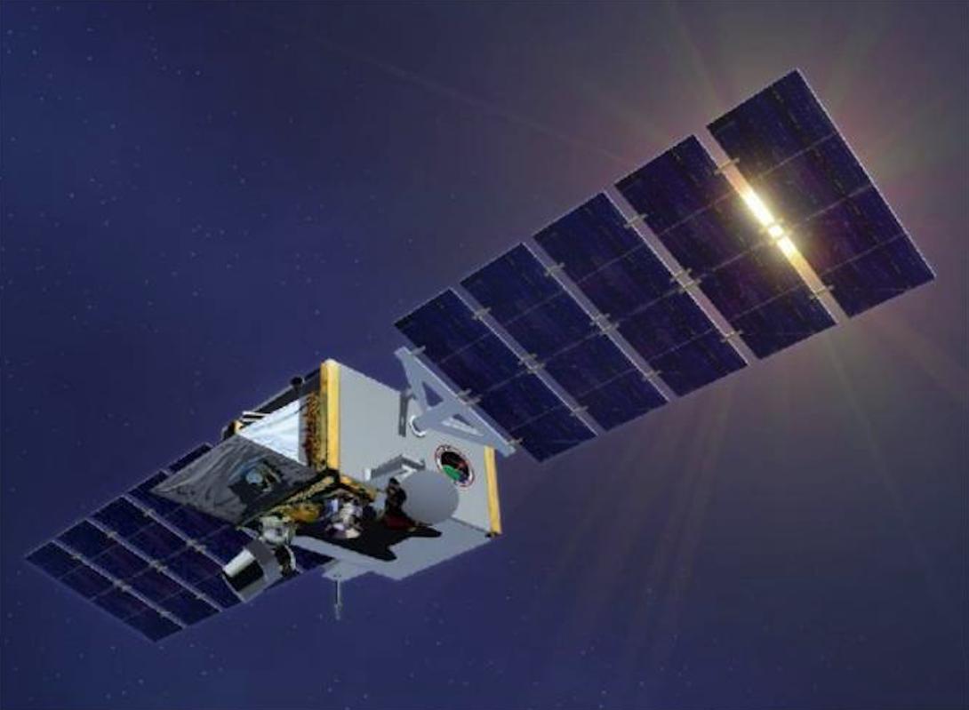 Satelita Space Tracking and Surveillance System – STSS. 2007 rok. Zdjęcie LAC