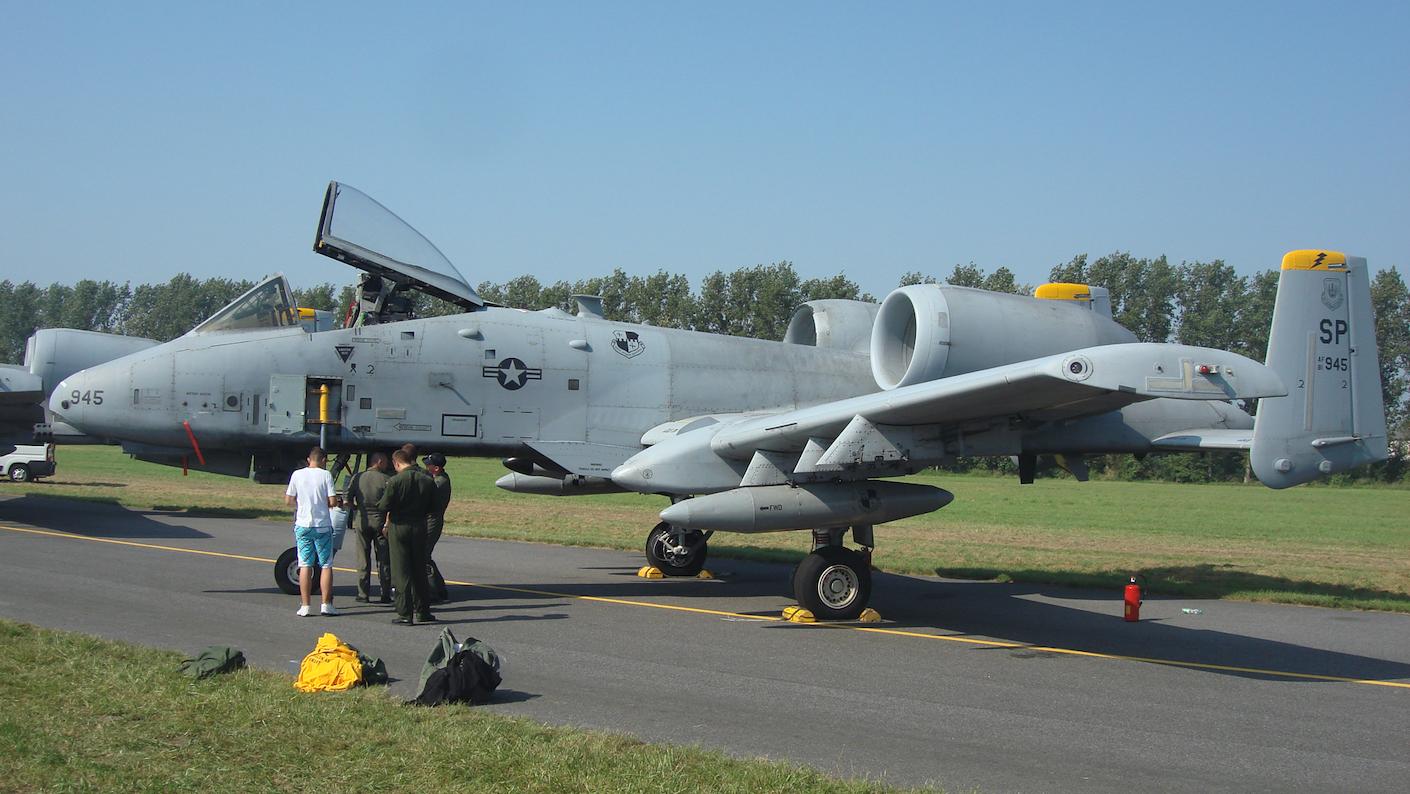 A-10 nb 945. 2011 rok. Zdjęcie Karol Placha Hetman