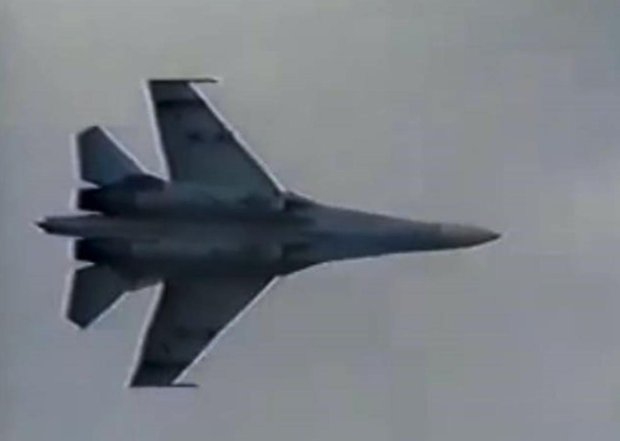 Su-27 Ławica 1991r. Su-27 Ławica 1991 rok. Zdjęcie LAC