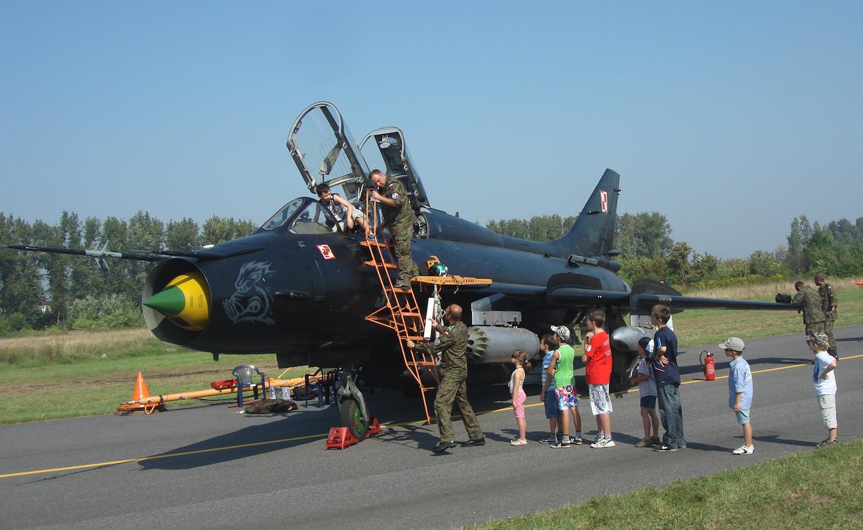 Su-22 z 8 ELT. 2011 rok. Zdjęcie Karol Placha Hetman