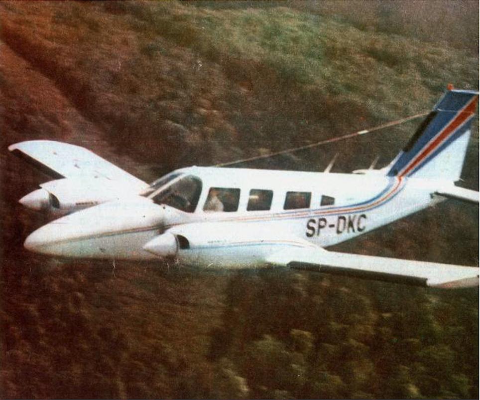 PZL M-20 Mewa. 1985 rok. Zdjęcie LAC