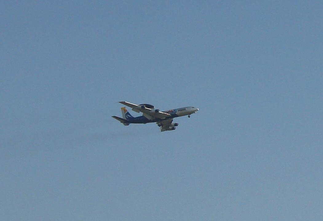 E-3 Sentry AWACS. 2011 rok. Zdjęcie Karol Placha Hetman