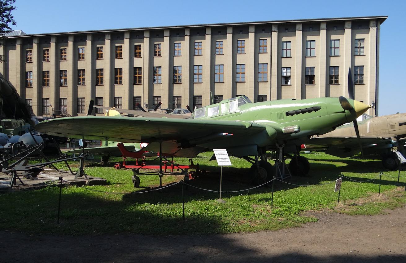 Ił-2m3 nb 21 2012 rok. Zdjęcie Karol Placha Hetman