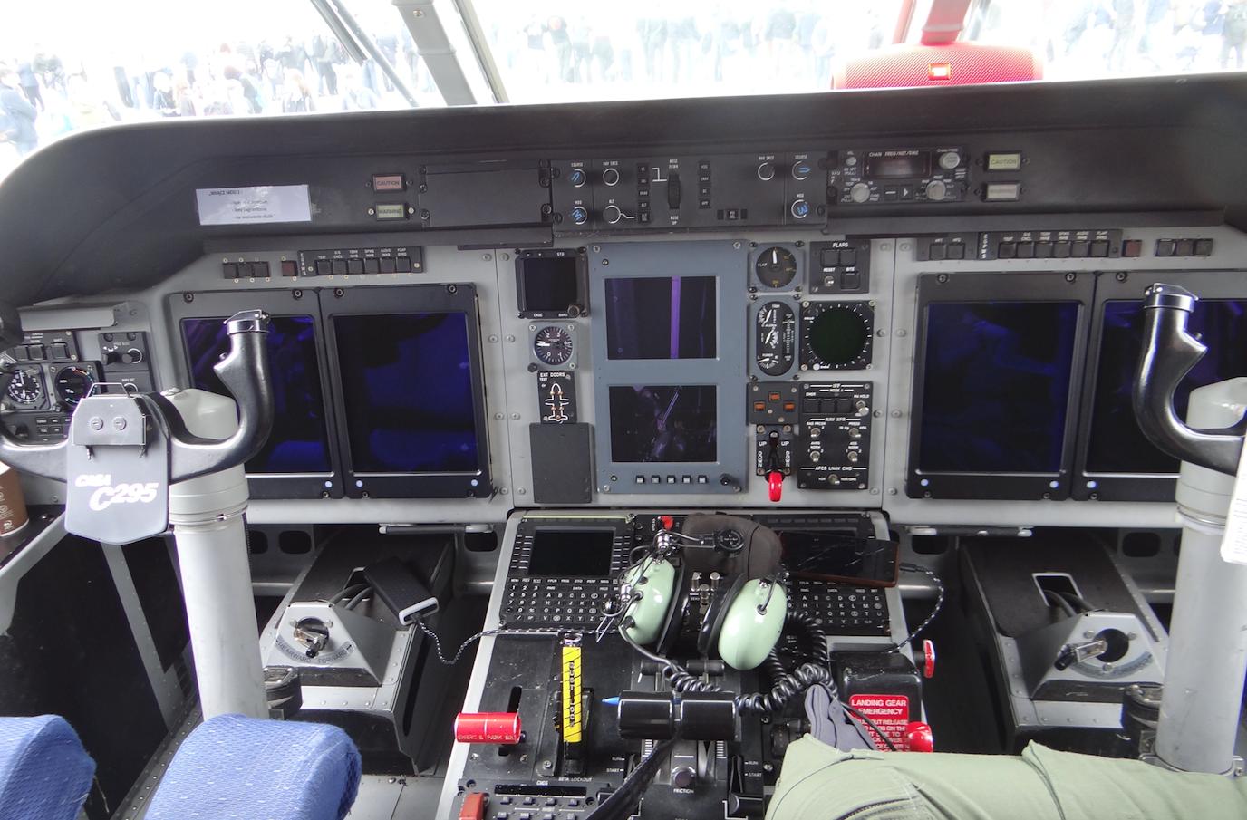 CASA C-295 M nb 020. Powidz 2019 rok. Zdjęcie Karol Placha Hetman