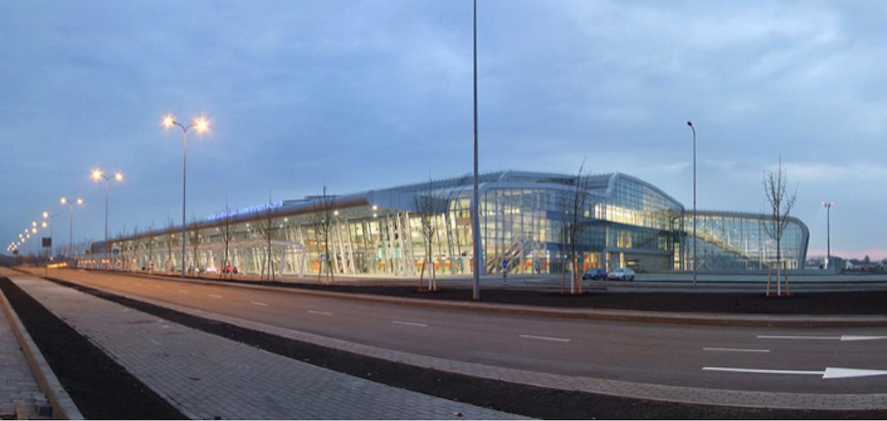 New terminal. 2012. Photo Panoramo-Lviv