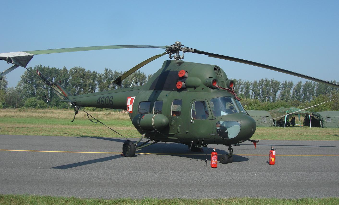 Mi-2 nb 4606. 2011 rok. Zdjęcie Karol Placha Hetman