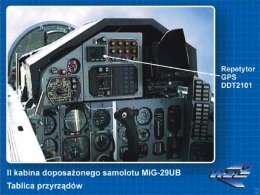 Druga kabina MiG-29 UB z GPS. Bydgoszcz 2005 rok. Zdjęcie WZL