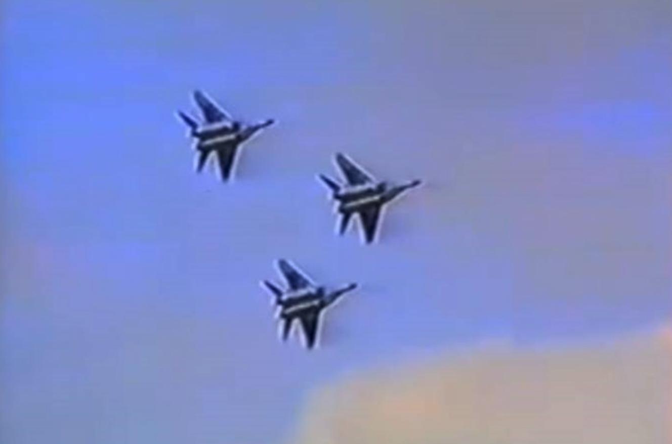 MiG-29 Ławica 1991 rok. Zdjęcie LAC