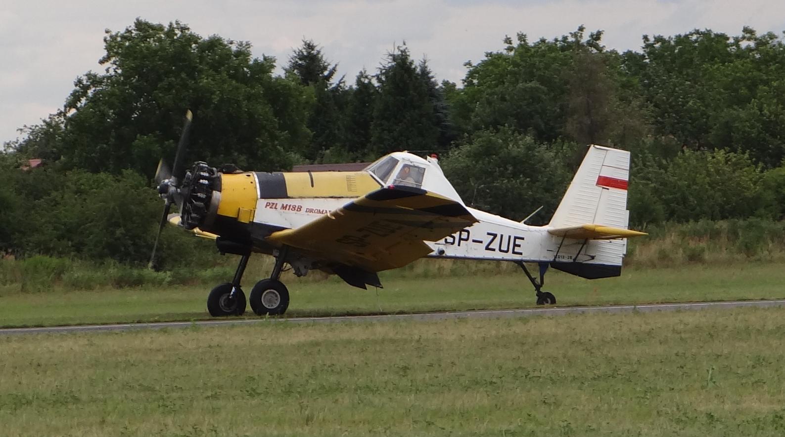 PZL Mielec M-18 Dromader - Polot