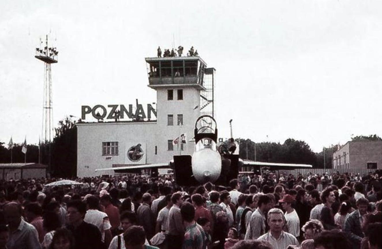 F-15 C z USAF na Ławicy. 1991 rok. Zdjęcie LAC