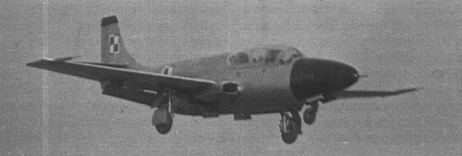 TS-11-02 podczas pierwszego lotu. 1960 rok. Zdjęcie LAC