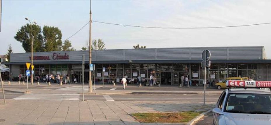 Terminal Etiuda 2007 rok. Zdjęcie LAC