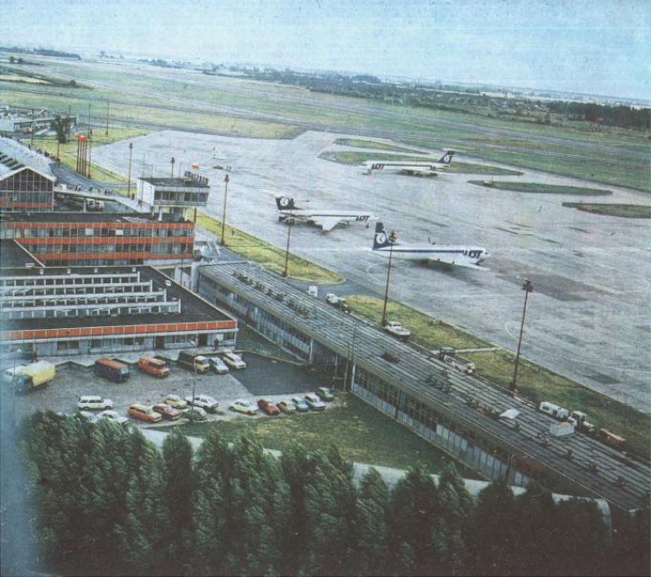Okęcie 1988 rok. Zdjęcie LAC