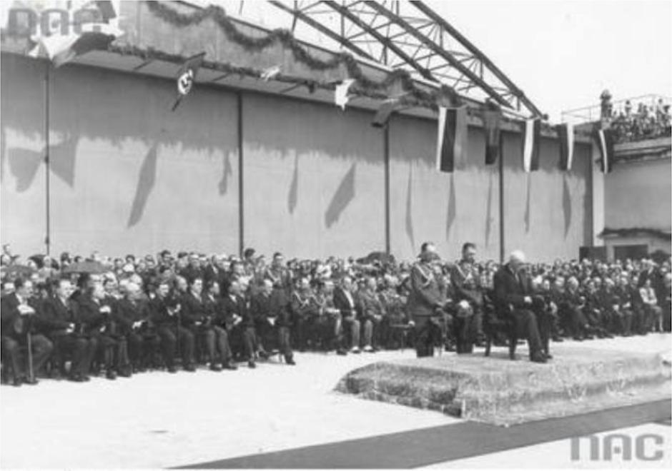 Okęcie 29 kwiecień 1934 rok. Zdjęcie NAC