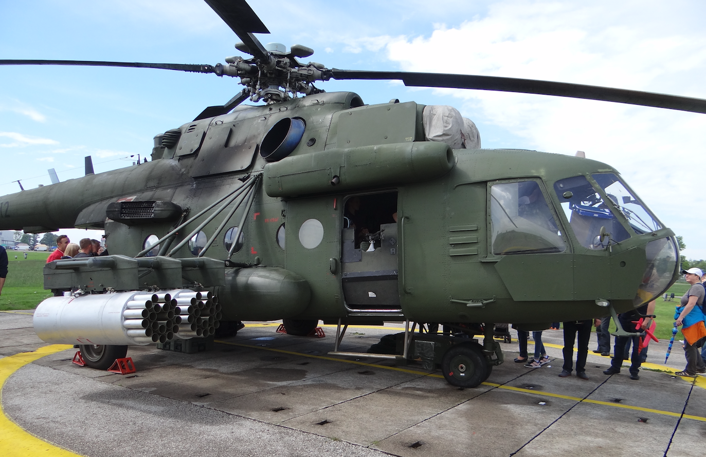 "Mil Mi-17 nb 6112 ""Red"". Inowrocław. 2019. Photo by Karol Placha Hetman"