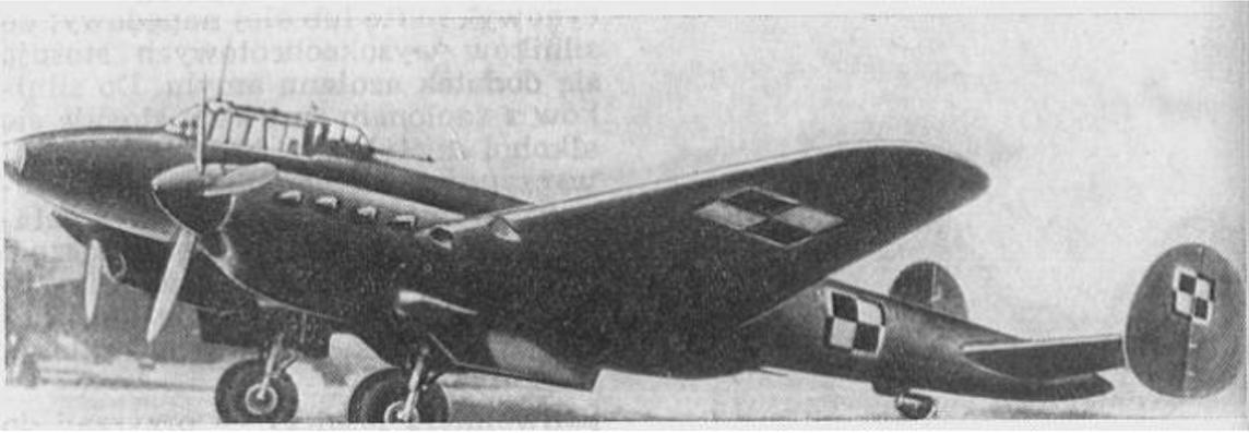 Bombowiec nurkujący Pe-2 należący do 7 SPLBN. 1946 rok. Zdjęcie LAC