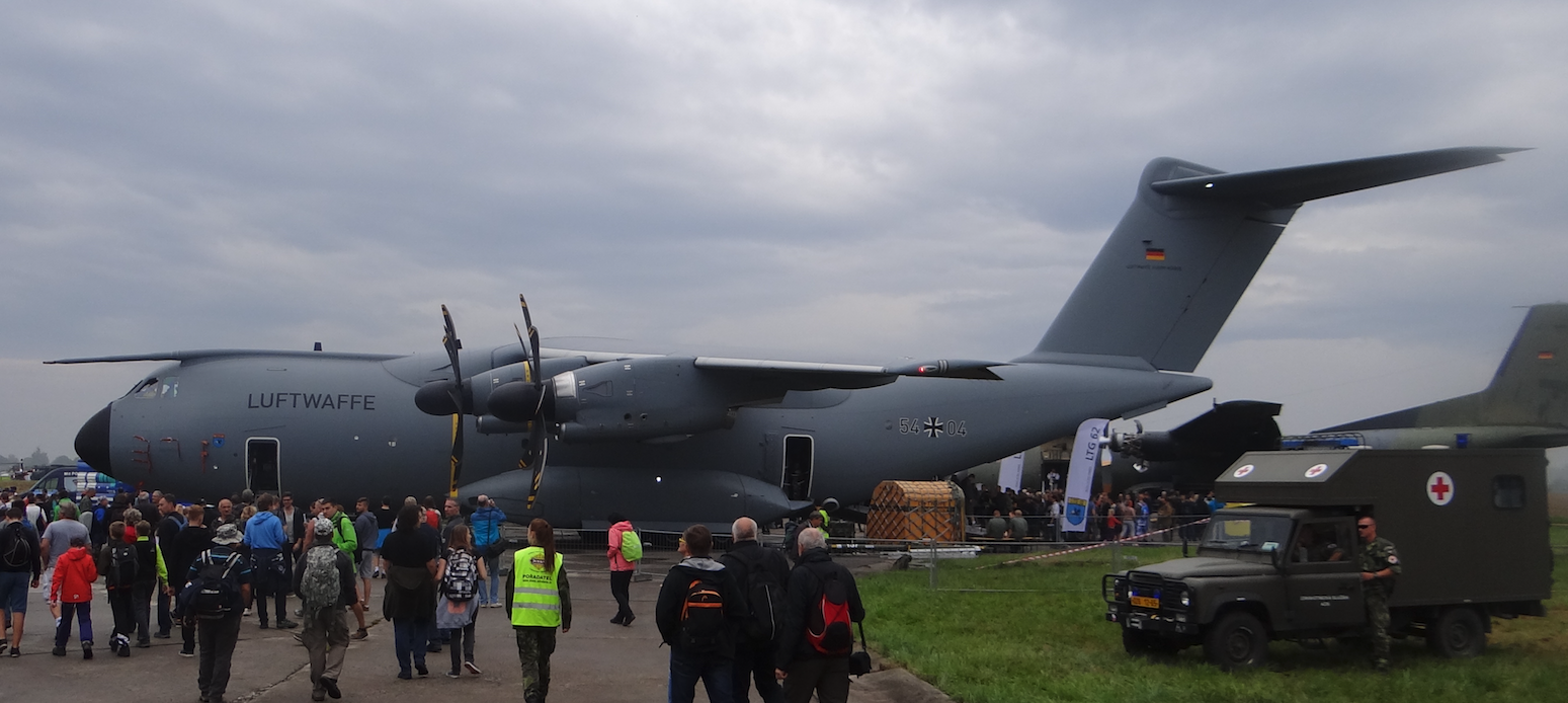 Airbus A-400M Nb 54x04 German Air Force. 2016 rok. Zdjęcie Karol Placha Hetman