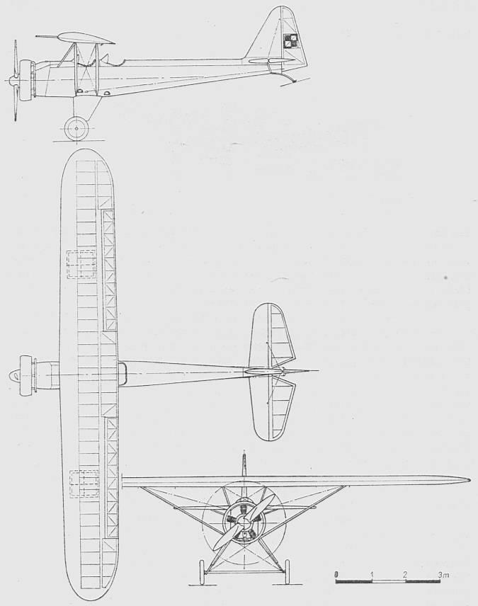 Rysunek PZL S-1