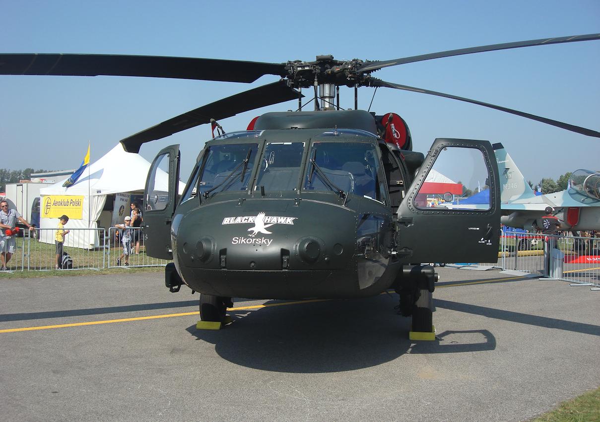 PZL Mielec Sikorsky S-70. 2011 rok. Zdjęcie Karol Placha Hetman
