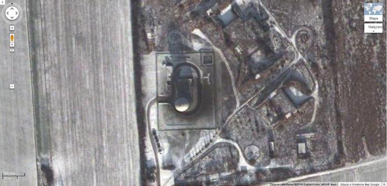 NUR-12 M w pobliżu Łasku, miejscowość Wiewiórczyn 2014 rok. Zdjęcie Google
