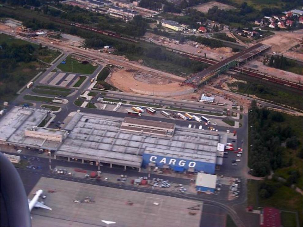 Terminal Cargo 2007 rok. Zdjęcie LAC
