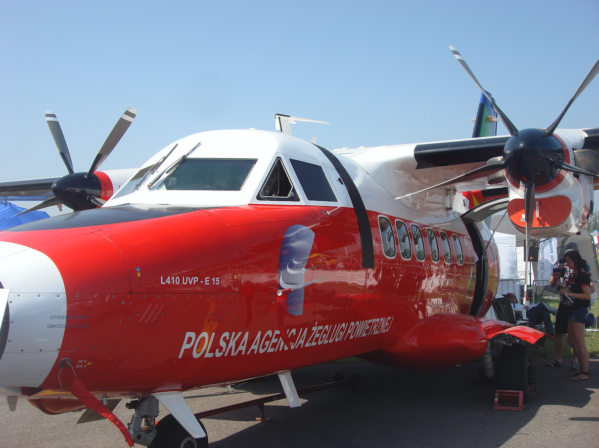 L-410 Papuga SP-TPB. 2011 rok. Zdjęcie Karol Placha Hetman