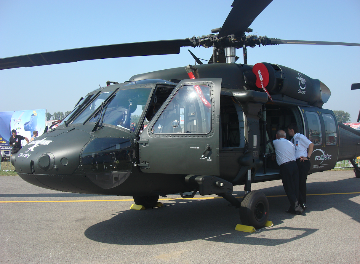 S-70i Black Hawk from Mielec 2011. Photo Karol Placha Hetman