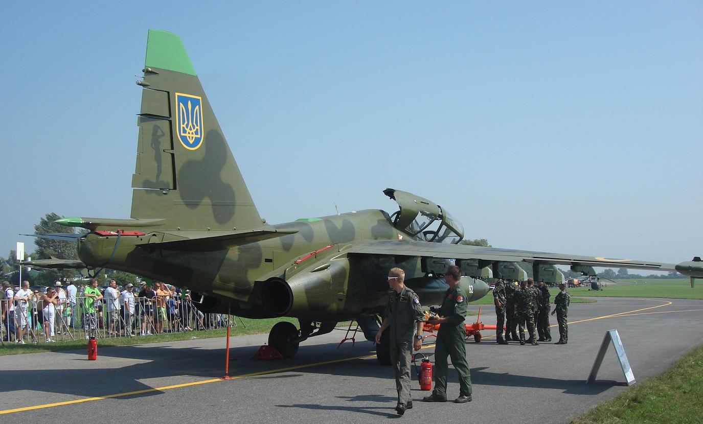 Su-25 UB nb 62. 2011 rok. Zdjęcie Karol Placha Hetman
