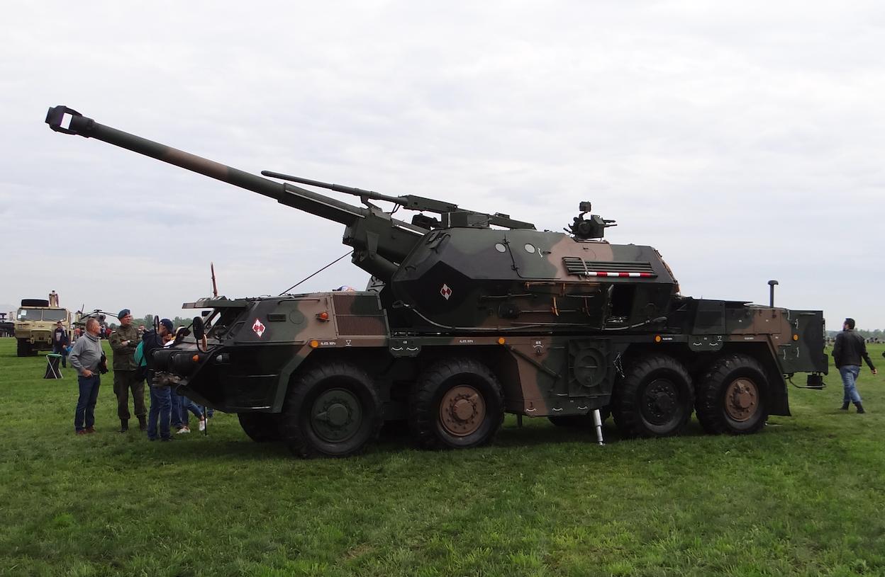 Dan's armato-haubica 152 mm. Inowrocław 2019. Photo by Karol Placha Hetman