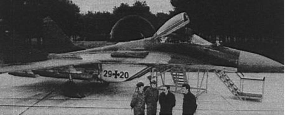 MiG-29 nb 29-20 przejęty przez RFN. 1991 rok. Zdjęcie LAC