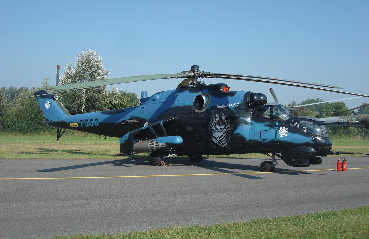 Mi-24 V nb 7353. 2011 rok. Zdjęcie Karol Placha Hetman