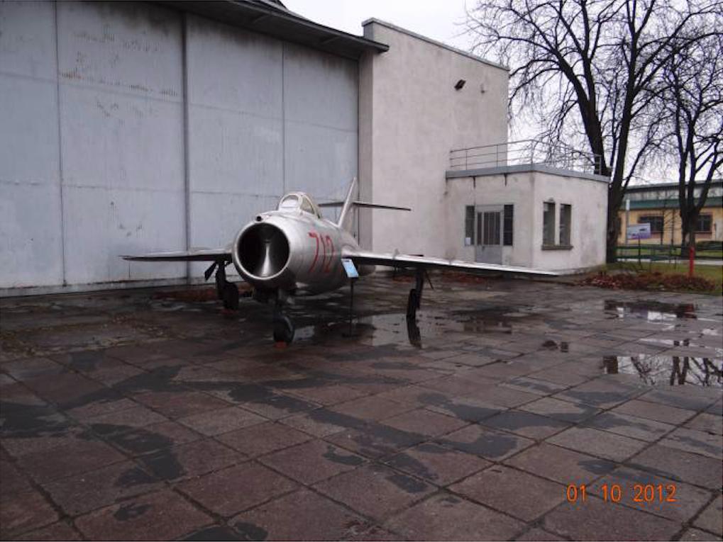 Lim-1 nb 712 Muzeum Lotnictwa Polskiego. 2012 rok. Zdjęcie Karol Placha Hetman