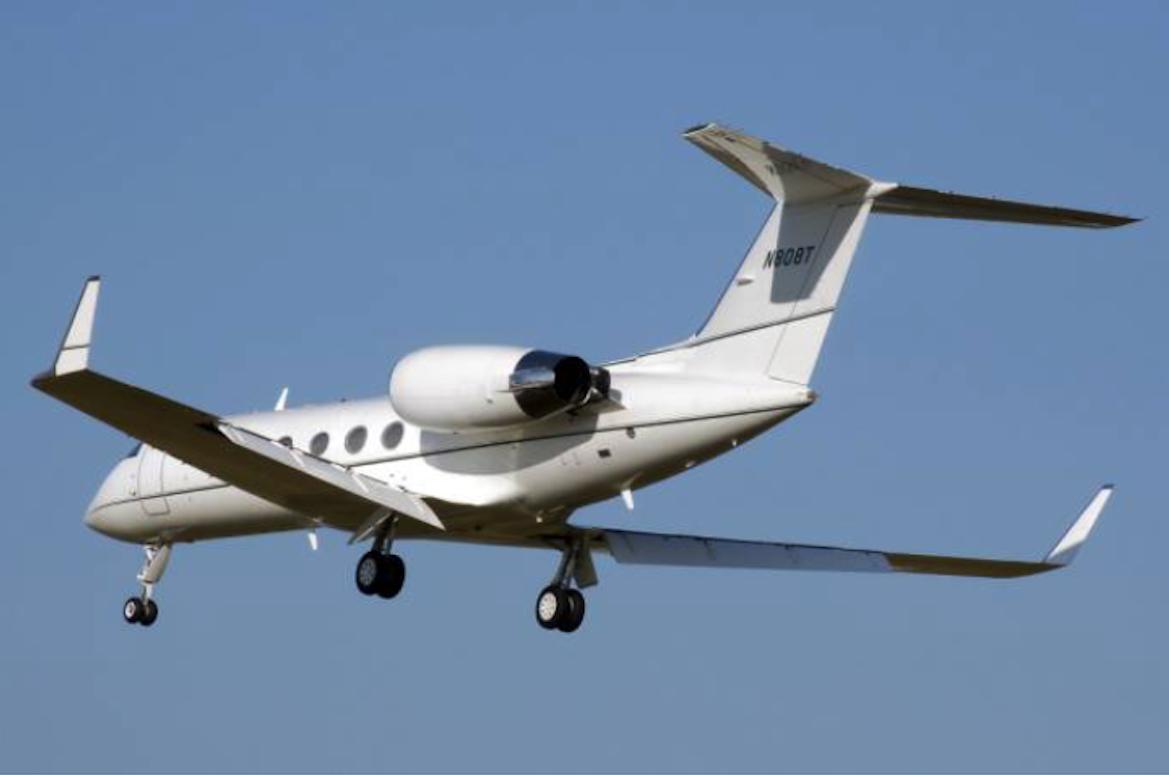 Gulfstream G-IV 2008 rok. Zdjęcie LAC