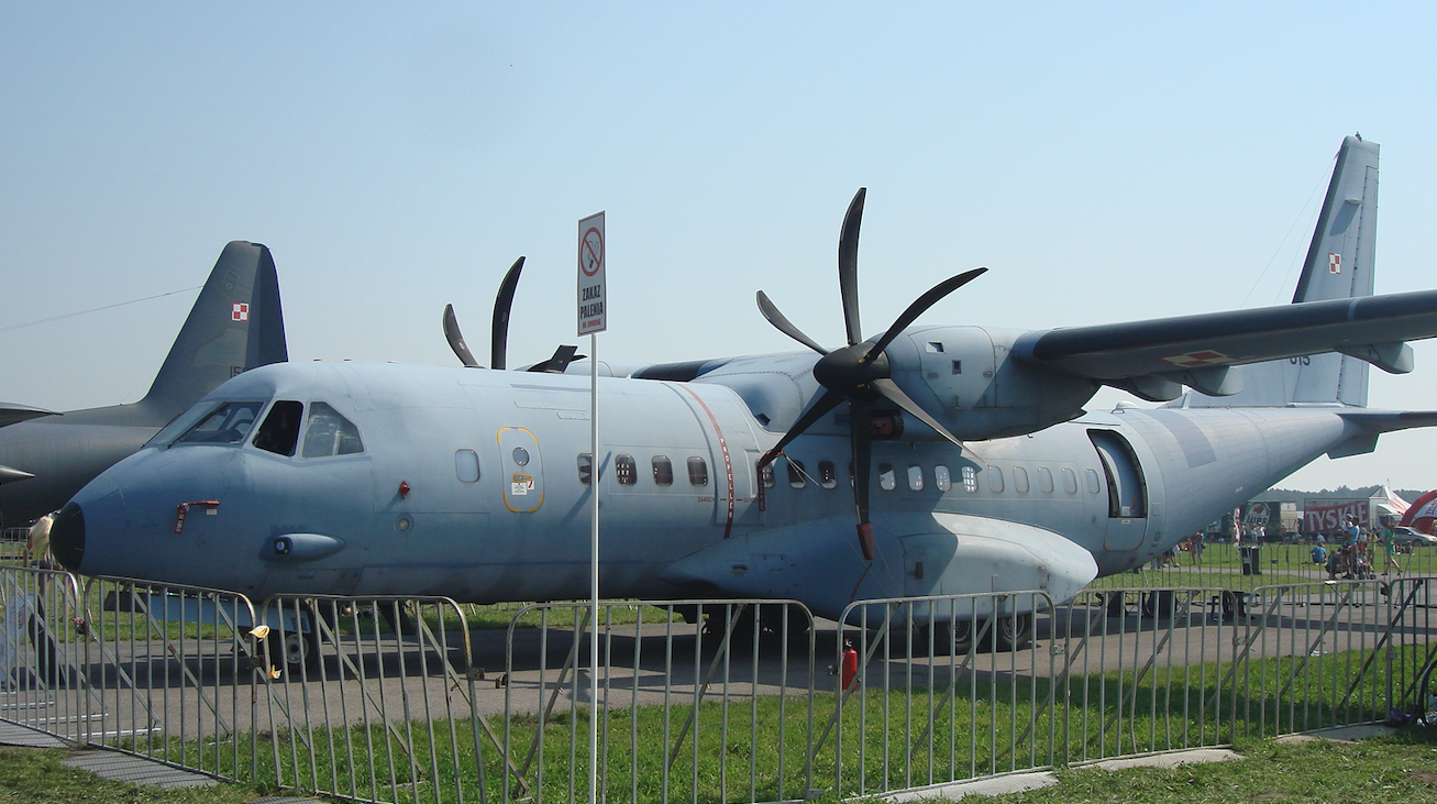 C-295 M nb 015 z 13 ELTr. 2011 rok. Zdjęcie Karol Placha Hetman
