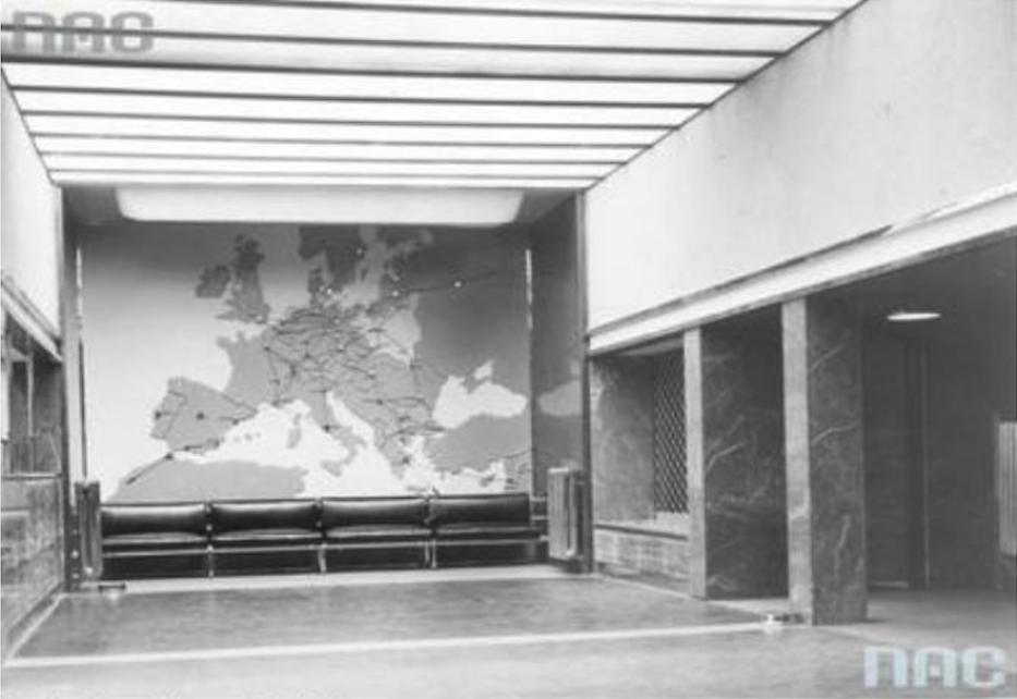 Lotnisko Okęcie. 29 kwiecień 1934 rok. Zdjęcie NAC
