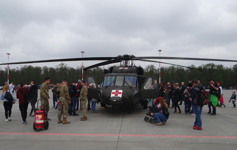 Sikorsky Black Hawk. Powidz 2019 rok. Zdjęcie Karol Placha Hetman